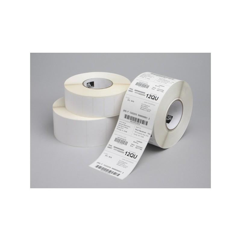Zebra Z-Select 2000T 102x51  mm etykiety termotransferowe papier powlekane 1370 szt perforacja gilza fi 25