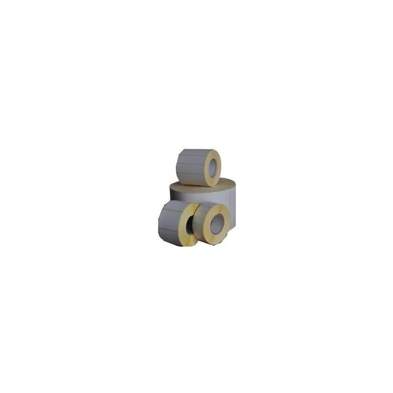 Etykiety termotransferowe papier 100x100 mm - 600 szt gilza fi 40