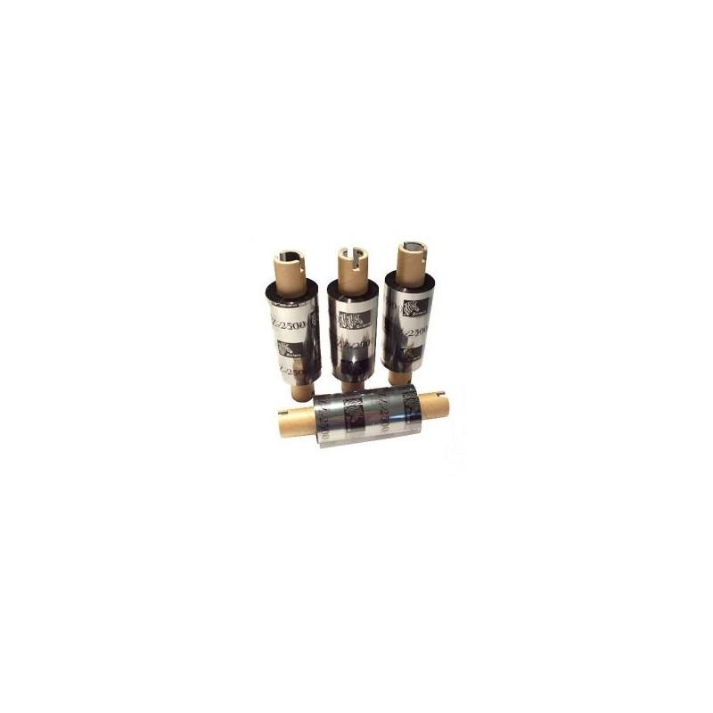 Zebra - taśma woskowo-żywiczna - 64mm x 74m do Zebra TLP 2844 GK GX folia wosk żywica