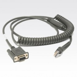 MOTOROLA Cable RS232 PWR 2.7m , colied
