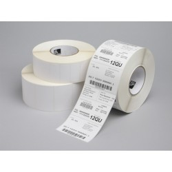 Zebra Z-Select 2000T  57x19  mm etykiety termotransferowe papier powlekane 3315 szt perforacja...