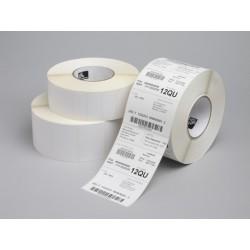 Zebra Z-Select 2000T  76x25  mm etykiety termotransferowe papier powlekane 2580 szt perforacja...