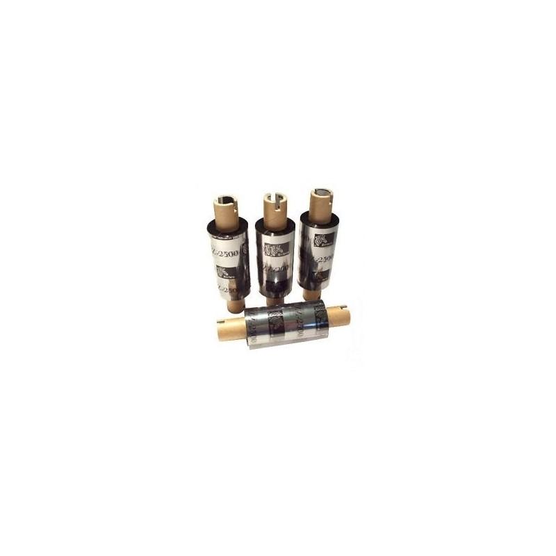 Zebra - ekonomiczna taśma woskowo-żywiczna serii 3300 - 64mm x 74m do Zebra TLP 2844 GK GX folia wosk żywica